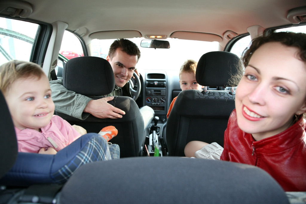 family in car 2
