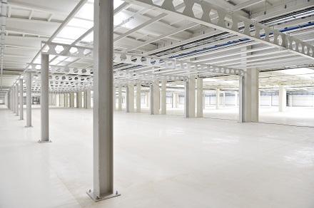 Empty storage depot
