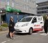 Hosté hotelu Holiday Inn Prague mohou jezdit elektromobily společnosti E.ON