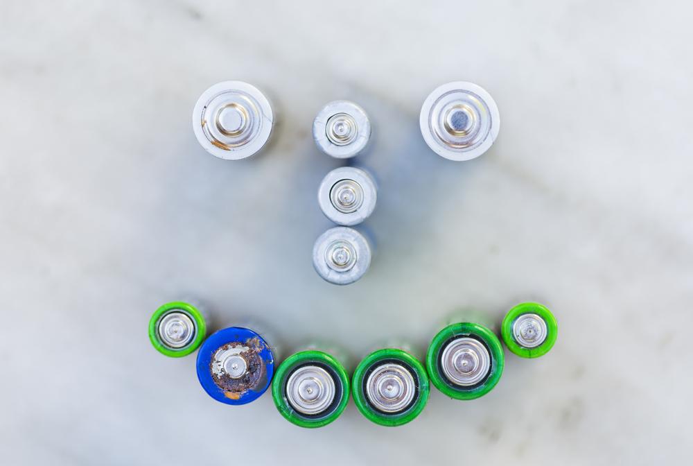 Zpracování použitých baterií se vyplatí