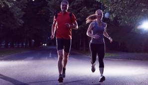 Noční běh pro Světlušku, nevidomí, baterie