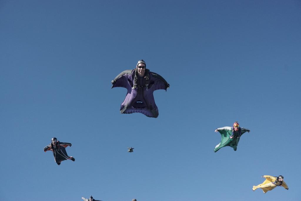První mistrovství ČR ve wingsuit-flyingu