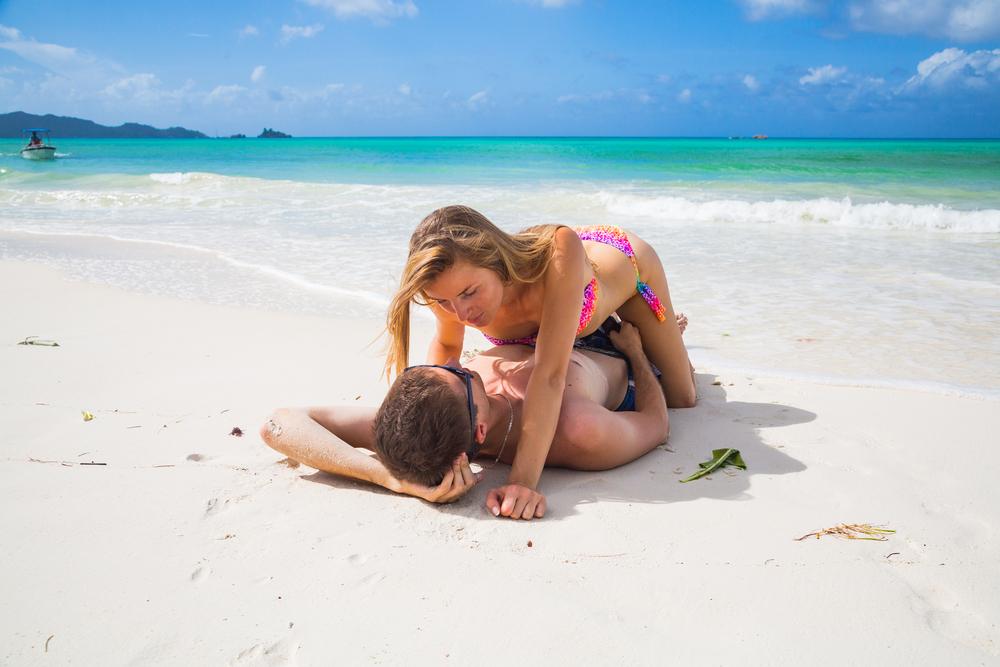 Секс На Пляже Рассказы