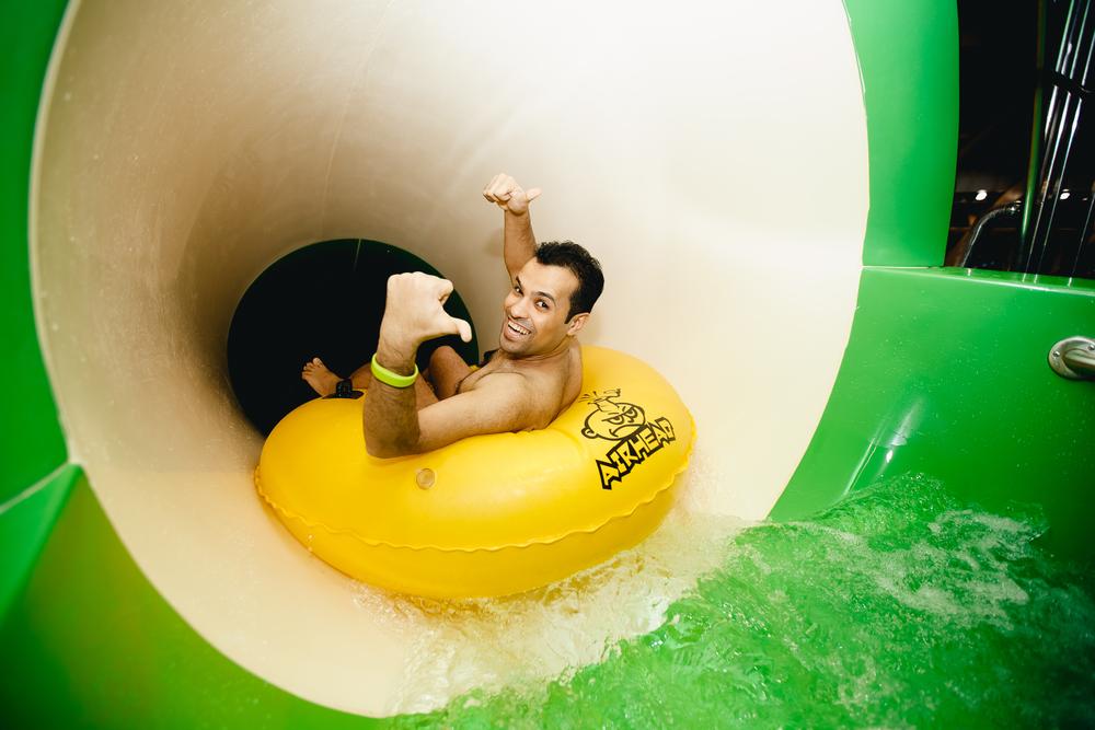 Pro rodiny, studenty, seniory jsou vstupenky do Aqualandu Moravia na podzim o polovinu levnější
