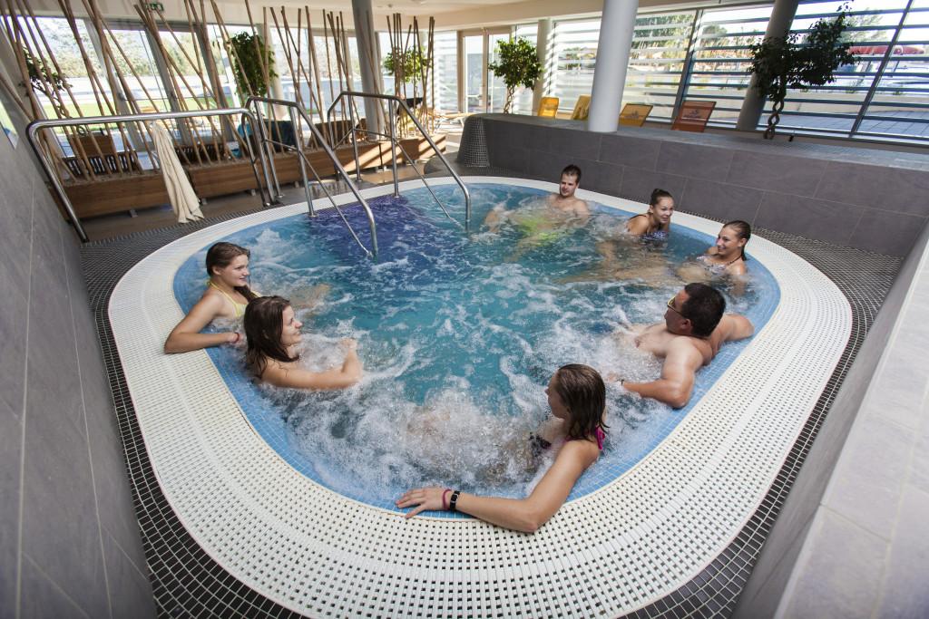 Aqualand Moravia: Nové horké bazény s termální vodou. Venkovní termální zóna vznikne v rekordním čase