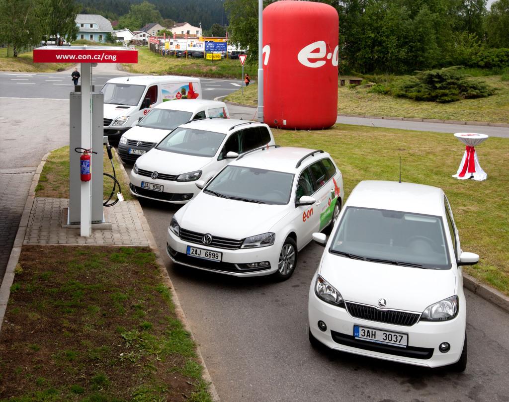 Zájem o vozy na CNG v Česku roste. Společnost E.ON rozšiřuje síť plnicích stanic