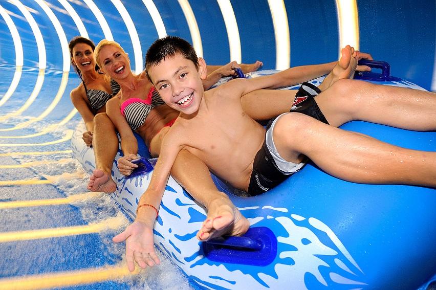 Jarní prázdniny v Aqualandu Moravia: pirátský program, nové horké bazény, wellness