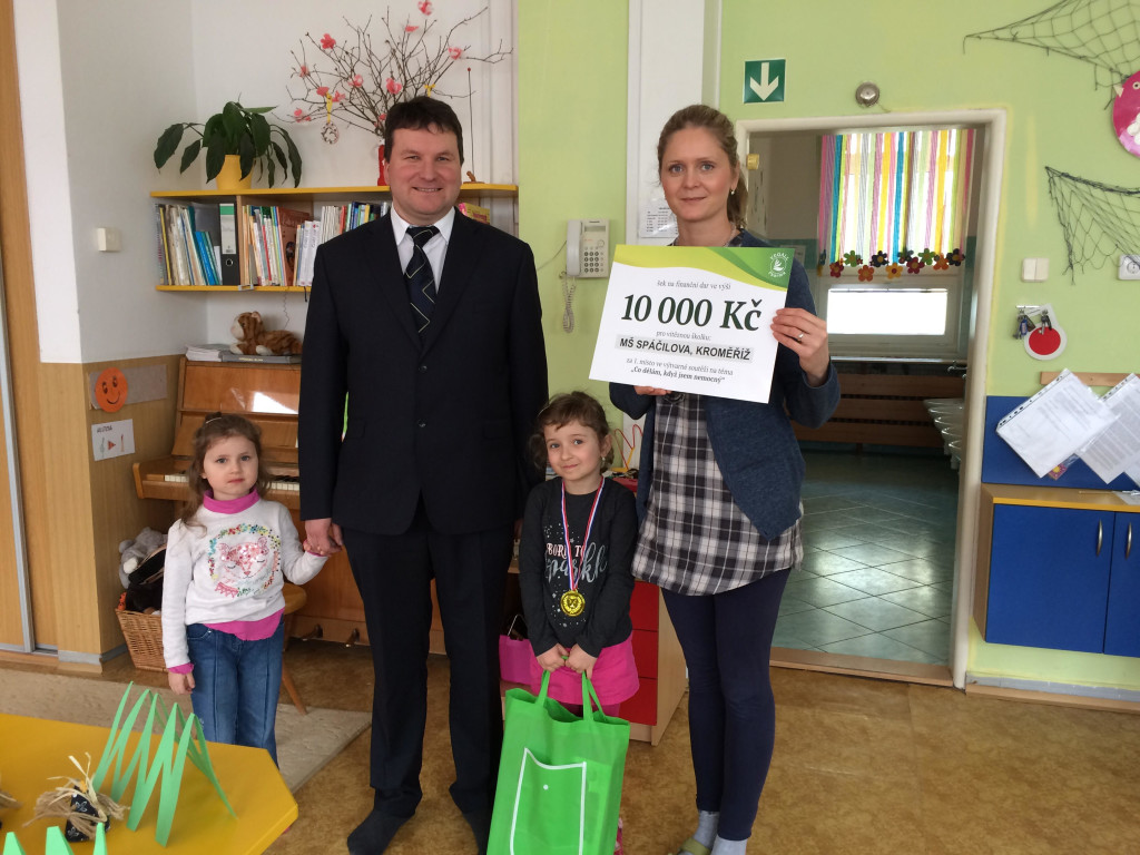 Ve výtvarné soutěži vyhrála MŠ z Kroměříže