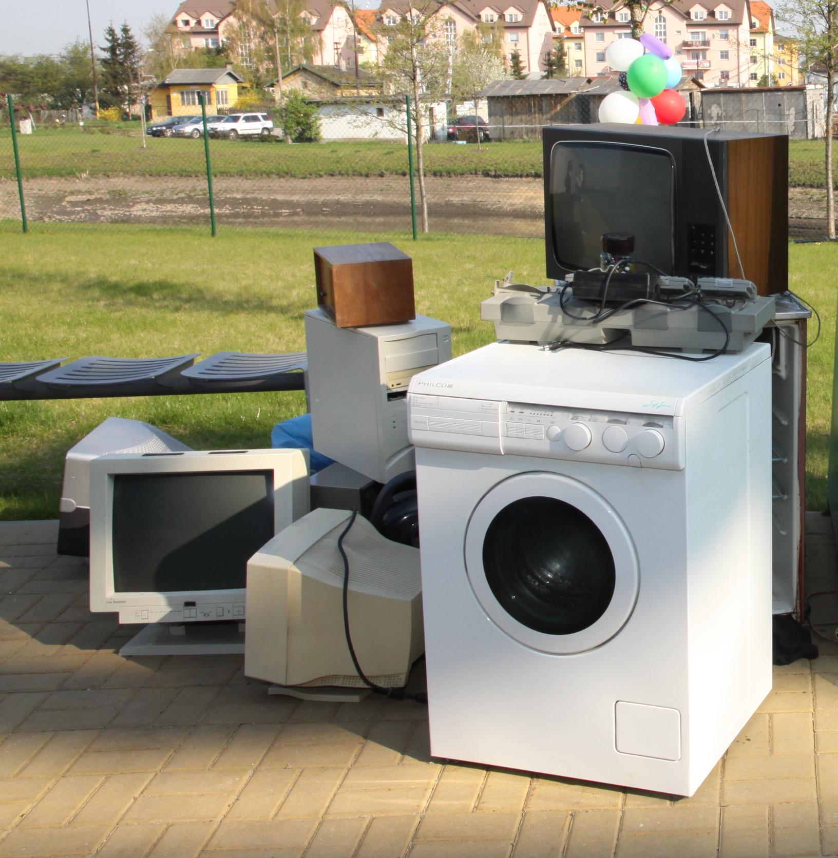 Češi vloni vytřídili přes 15 000 tun elektroodpadu