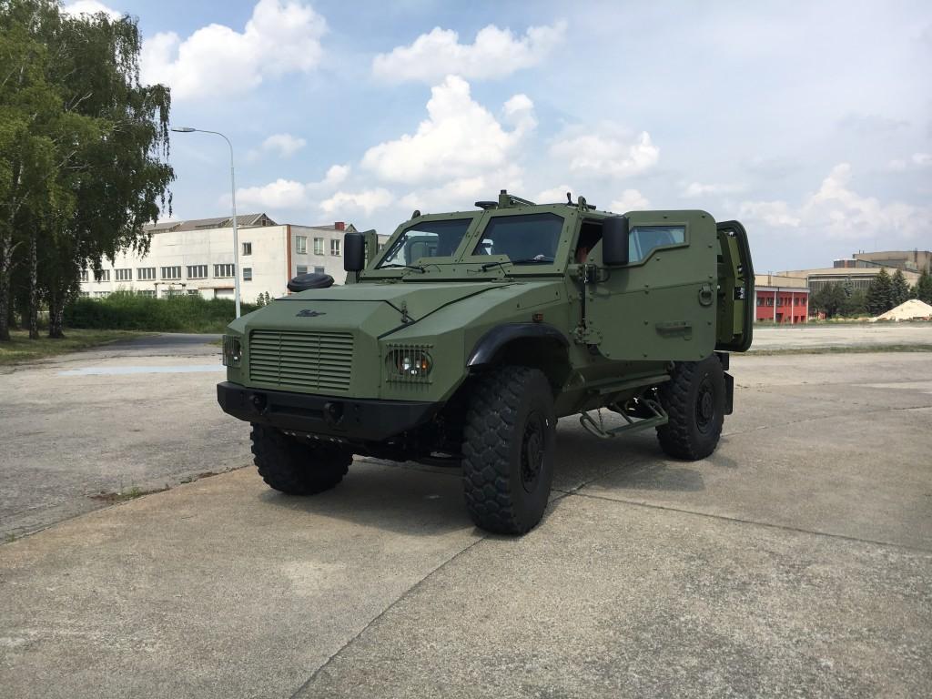 Vojenské vozidlo 4x4 GERLACH má za sebou první úspěšné testování