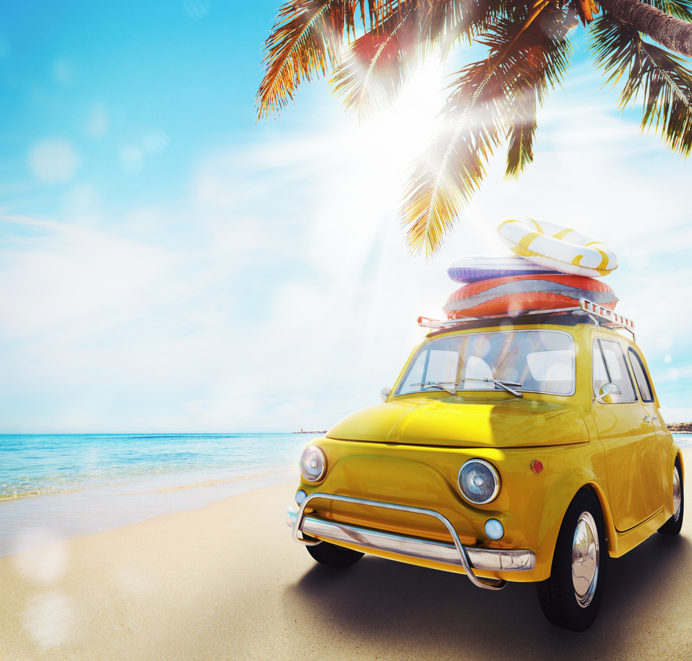 Jedete starším autem k moři? Zvažte krátkodobé havarijní pojištění