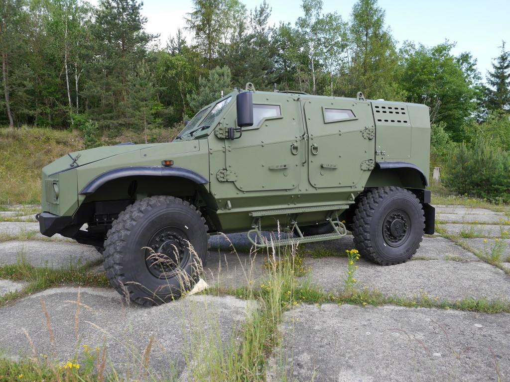 Zetor Engineering představil v polských Kielcích vozidlo GERLACH. Projekt má pozitivní ohlas mezi odborníky i vojáky
