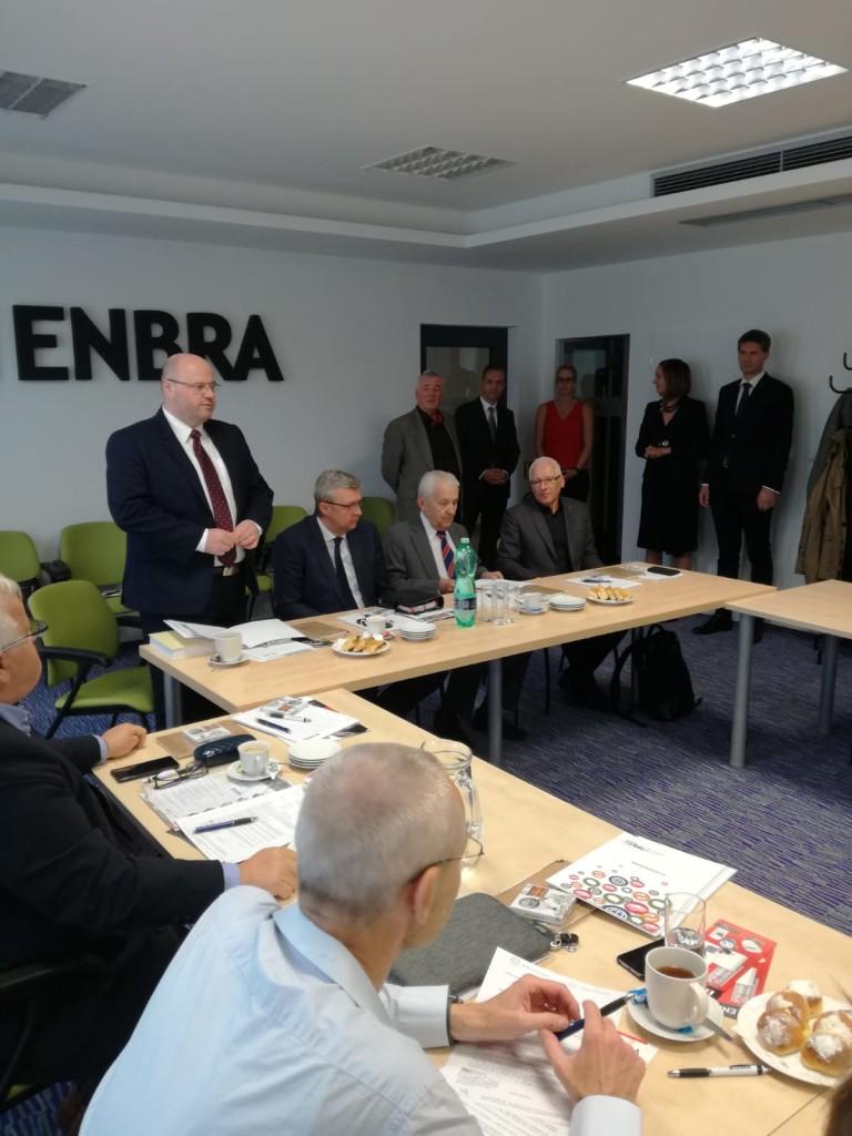 Společnost Enbra hostila 10. zasedání Vědecké rady BIC Brno