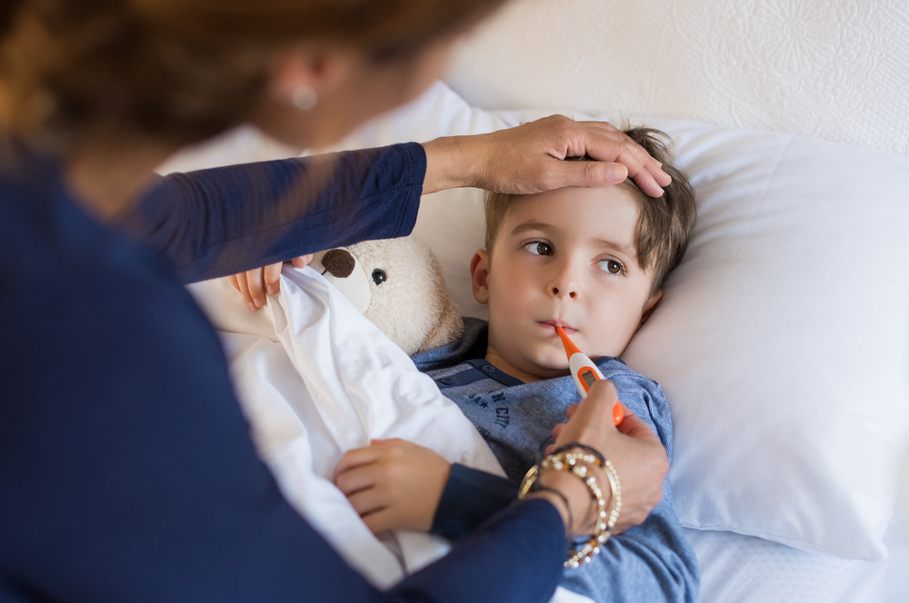 Minimálně třikrát ročně trápí děti nachlazení