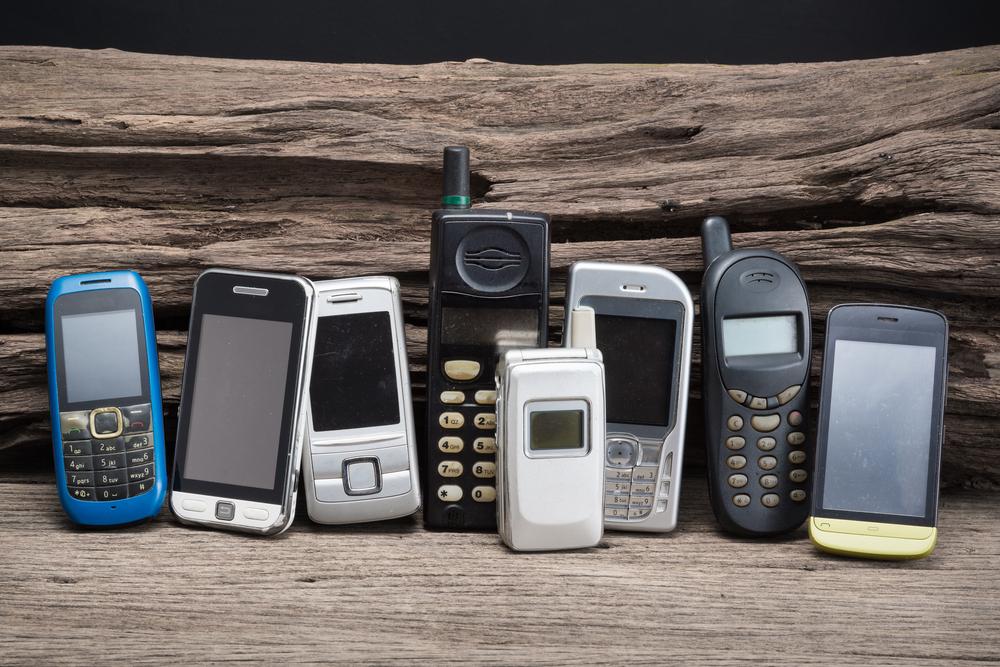 Proč skladujeme staré mobily?